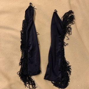 Accessories - Fingerless gloves with tassels
